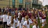 Dziewczyny z Legia Soccer Schools na turnieju