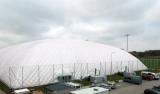 Hala pneumatyczna w Legia Training Center