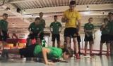 Zawodnicy Akademii w parku trampolin!