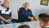Stanisław Czerczesow spotkał się z trenerami LSS
